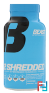 Beast Sports Nutrition, 2 Shredded, 60 Vegetable Capsules