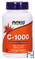 C-1000, Now Foods, 100 Veg Capsules