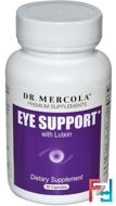 Eye Support, with Lutein, Dr. Mercola, 30 Capsules
