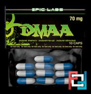 Пробник DMAA HCL, Epic Labs, 10 * 70 mg