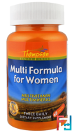 Multi Formula for Women, Thompson, 60 Capsules