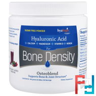 Osteoblend, Hyaluronic Acid, For Bone Density, Mixed Berry, Hyalogic LLC, 0.40 lbs (180 g)