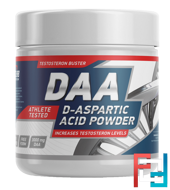 DAA (D-aspartic Acid powder), GeneticLab, Unflavored, 100 g