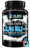 Alpha Male, XLSN, 60 caps
