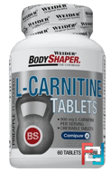 L-Carnitine, Weider, 60 Tablets
