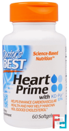 Heart Prime with KD-Pur EPA, Doctor's Best, 60 Softgels