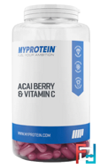 Acai Berry & Vitamin C (Ягоды Асаи Плюс Витамин С), Myprotein, 90 capsules