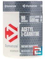 Acetyl L-Carnitine, Dymatize Nutrition, 500 mg, 90 capsules