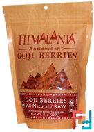 Goji Berries, Antioxidant, Himalania, 8 oz, 227 g