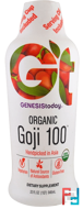 Organic Goji 100, Genesis Today, 32 fl oz, 946 ml