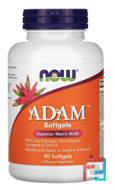 Adam, Superior Men's Multi, Now Foods, 90 Softgels