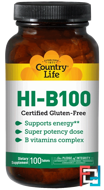 HI-B100, Country Life, 100 Tablets