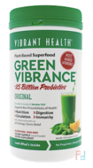 Green Vibrance +25 Billion Probiotics, Version 16.0, Vibrant Health, 12.5 oz (354.9 g)