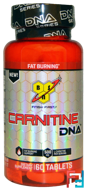 Carnitine DNA, BSN, 500 mg, 60 tablets