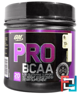 Pro BCAA & 5 g Glutamine Support, Optimum Nutrition, Unflavored, 310 g