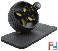 Performance Ab Wheel + Knee Pad Included, Sports Research