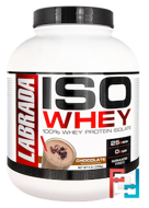 Labrada Nutrition, ISO Whey, 100% Whey Protein Isolate, Chocolate, 5 lb (2268 g)
