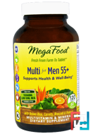 Multi for Men 55+, MegaFood, 120 Tablets