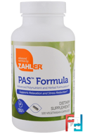 PAS Formula, Advanced Polynutrient and Herbal Formulation, Zahler, 120 Vegetarian Capsules
