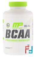 BCAA, 3:1:2, Essentials, MusclePharm, 240 Capsules