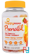 Prenatal, DHA, Omega-3s, Choline and Vitamin D, Nurture Inc. (Happy Baby), 81 Gummies