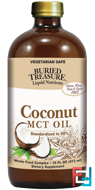 Liquid Nutrients, Coconut Oil, Buried Treasure, 16 fl oz (473 ml)