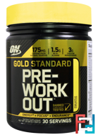 Pre-Workout, Gold Standard, Optimum Nutrition, 30 serv, 300 g
