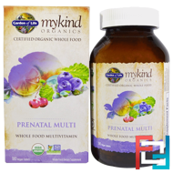 MyKind Organics, Prenatal Multi, Whole Food Multivitamin, Garden of Life, 180 Vegan Tablets