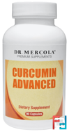 Curcumin Advanced, Dr. Mercola, 90 Capsules