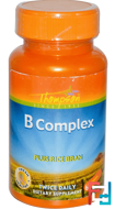 B Complex, Plus Rice Bran, Thompson, 60 Tablets