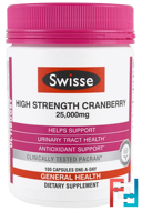 High Strength Cranberry, Ultiboost, Swisse, 25.000 mg, 100 Capsules