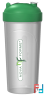 Leak-Proof Shaker, BPA-FREE Bottle with Vortex Mixer, NovaForme, 25 oz (700 ml)