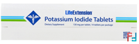Potassium Iodide Tablets, 130 mg, Life Extension, 14 Tablets