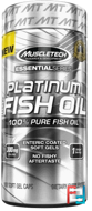 100% Platinum Fish Oil, Muscletech, 100 capsules