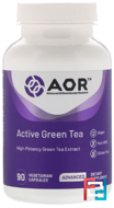Classic Series, Active Green Tea, Advanced Orthomolecular Research AOR, 90 Veggie Caps
