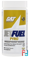 JetFuel Pyro, Fat-Burning Thermogenic, GAT, 120 Oil-Infused Capsules