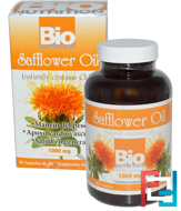 Safflower Oil, Bio Nutrition, 1000 mg, 90 Softgels