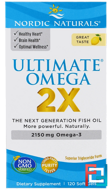 Ultimate Omega 2X, 2150 mg, Nordic Naturals, 120 Soft Gels