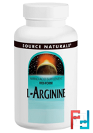 L-Arginine, Free Form, Source Naturals, 500 mg, 100 Capsules