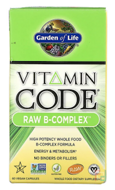 Vitamin Code, Raw B-Complex, Garden of Life, 60 Vegan Caps
