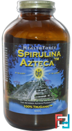 Spirulina Azteca, HealthForce Nutritionals, 500 g