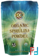 Organic Spirulina Powder, Earth Circle Organics, 8 oz, 226.7 g