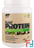 Plant Protein, All-Natural Protein Blend, Vanilla, GAT, 1.48 lbs (673 g)