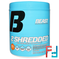 2 Shredded, Beast Sports Nutrition, 290 g