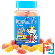 DHA Omega-3 Gummi for Kids, Gummi King, 60 Gummies