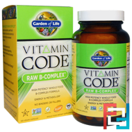 Garden of Life, Vitamin Code, Raw B-Complex, 120 Vegan Caps