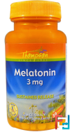 Melatonin, Thompson, 3 mg, 30 Tablets