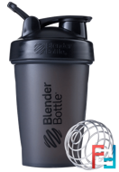 BlenderBottle, Classic With Loop, Black, Sundesa, 20 oz