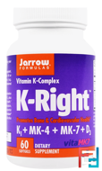 K-Right, Jarrow Formulas, 60 Softgels