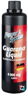 Guarana Liquid 4000 mg, Power System, 500 ml
